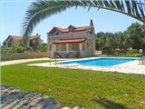 A beautiful stone villa of 100 sqm with large swimming pool is for sale