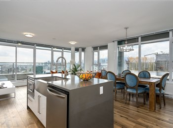 Penthouse with Amazing Patio in Mount Pleasant